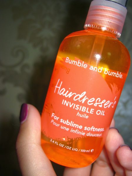 Hairdresser's Invisible Oil от Bumble & Bumble