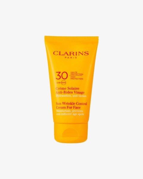 Clarins, Crème Solaire Anti-Rides Visage