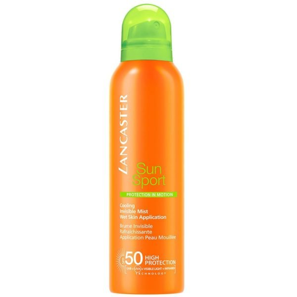 Lancaster, Sun Sport Cooling Invisible Mist Wet Skin Application