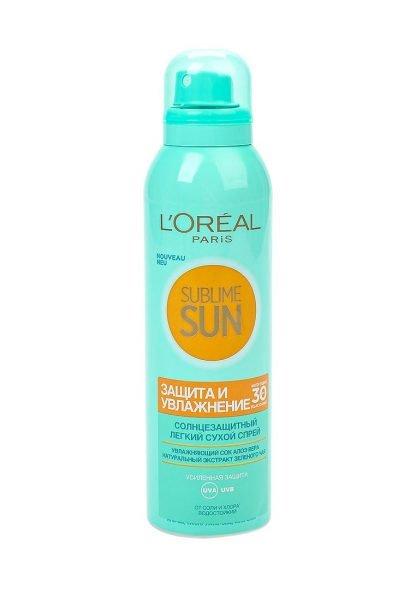 L'Oréal Paris, Sublime Sun «Защита и увлажнение»