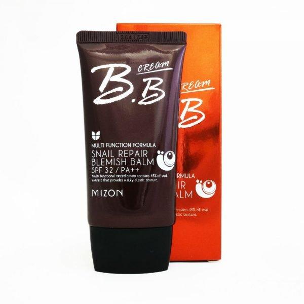 BB крем с SPF 32: Mizon Snail Repair Blemish Balm