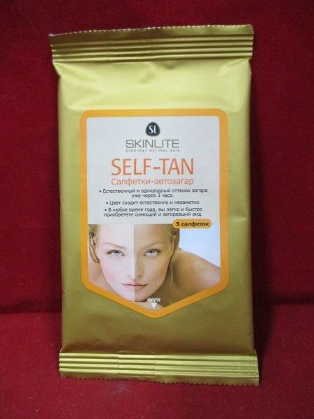 Салфетки-автозагар Self-Tan от Skinlite