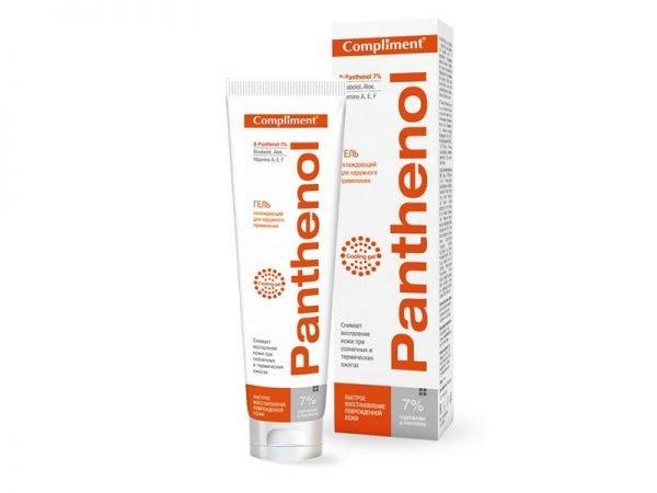 Compliment, Panthenol «Гель охлаждающий для наружного применения»