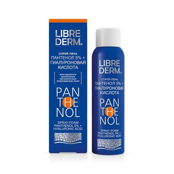 LIBREDERM, спрей «Пантенол с гиалуроновой кислотой»