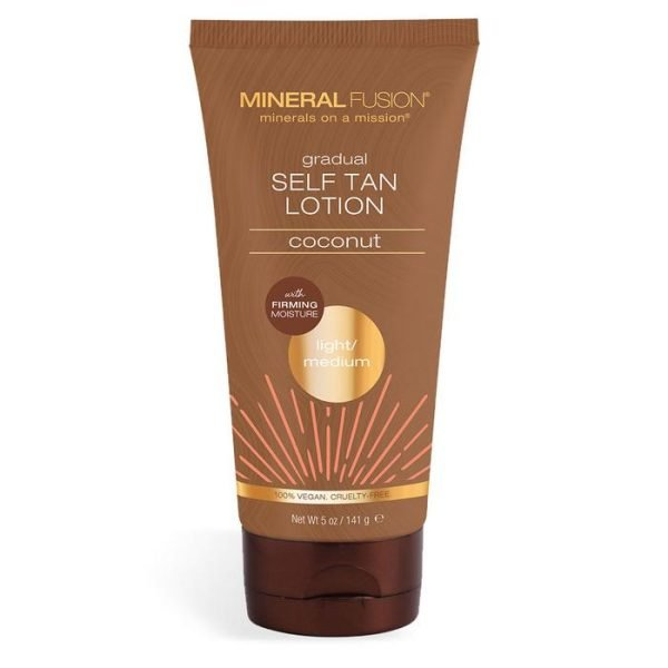 Mineral Fusion, Gradual Self Tan Lotion Coconut