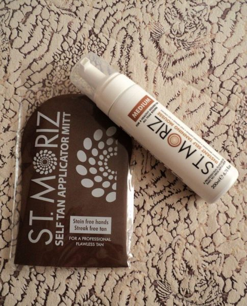 Instant Self-Tanning Mousse от St. Moriz Professional