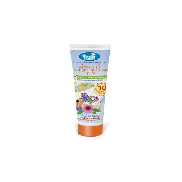 «Наша мама: детское солнцезащитное молочко»
