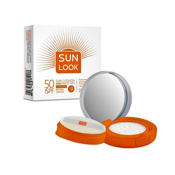 Sun cushion for face SPF50 от SUN LOOK