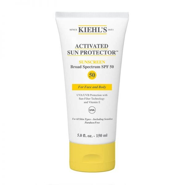 Kiehl's, Activated Sun Protector For Face and body, SPF 50