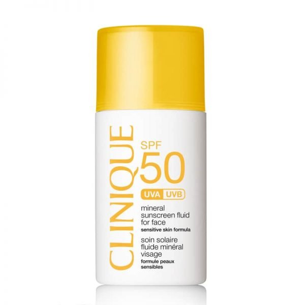 Clinique, Mineral Sunscreen Fluid For Face SPF 50