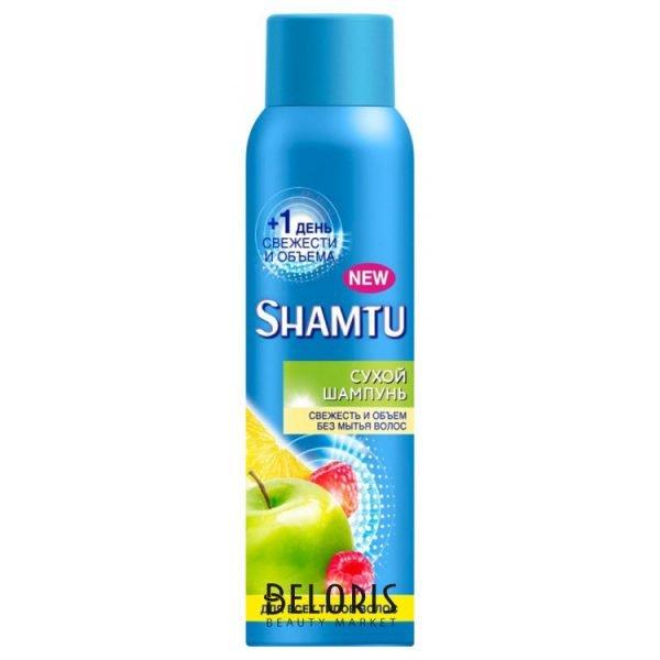 Shamtu, «Сухой шампунь: свежесть и объём без мытья волос»