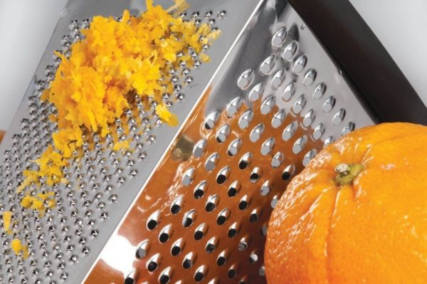 Апельсиновая цедра на тёрке