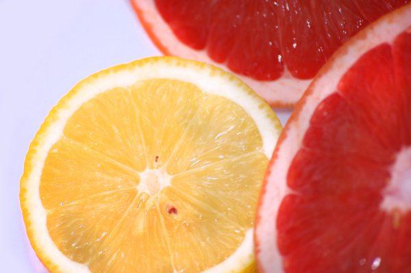 Лимон и грейпфрут