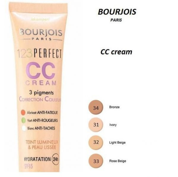 Bourjois Paris 123 Perfect Colour Correcting Cream SPF 15