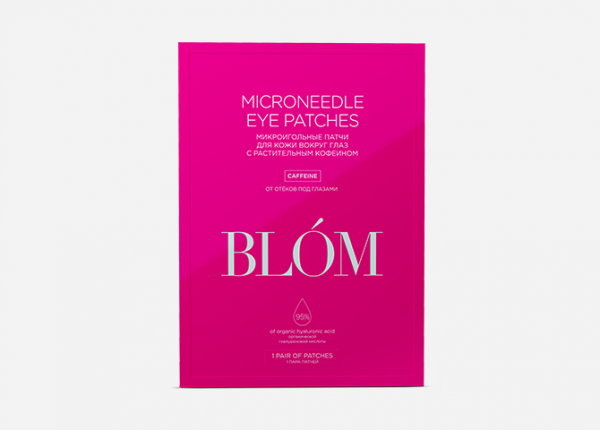 Blom, Microneedle Eye Patches