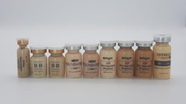 Варианты препаратов для проведения BB Glow Treatment