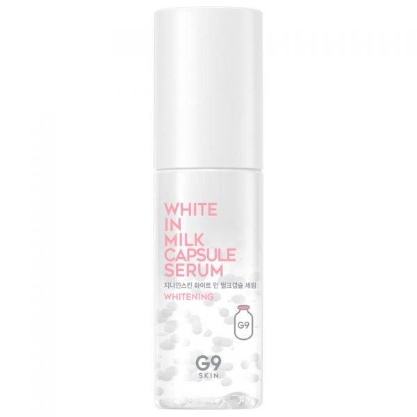 Осветляющая сыворотка Berrisom G9 White In Milk Capsule Serum с молочными протеинами