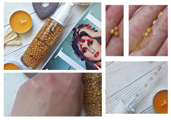Gold Fluid для лица «Золотые жемчужины для увеличения упругости кожи»