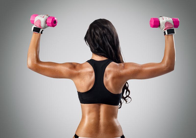 Упражнения для похудения рук и плеч: эффективный комплекс
