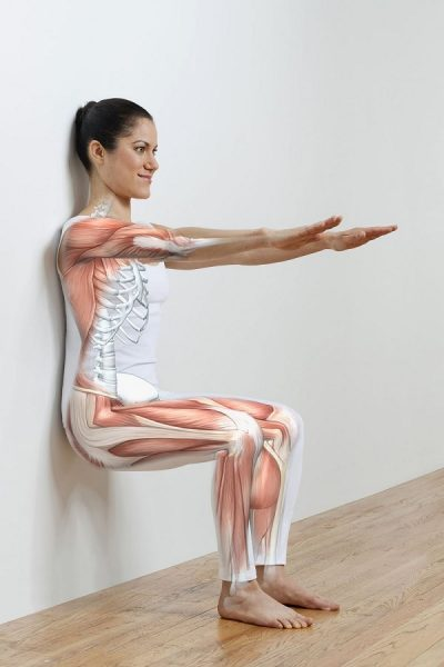 Упражнение «стул у стены»