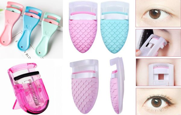 Пластиковые щипчики для ресниц