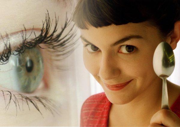 Кадр из фильма Амели и женский глаз