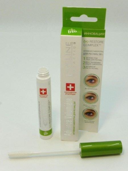 Сыворотка для ресниц 3 в 1 Eveline Cosmetics Advance Volumiere