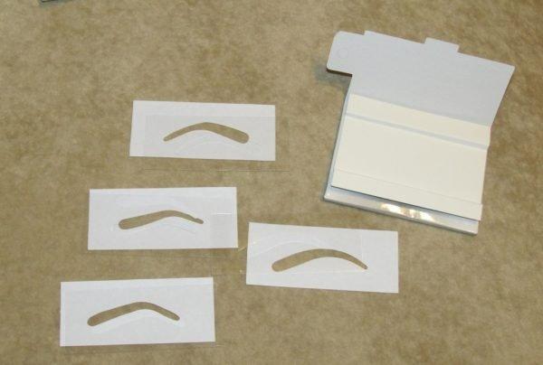 Трафарет из бумаги