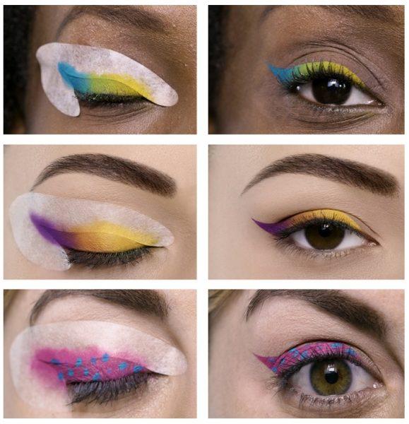 Использование трафаретов Eye Candy Stencils