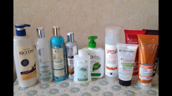 Шампуни для мытья волос после глазирования