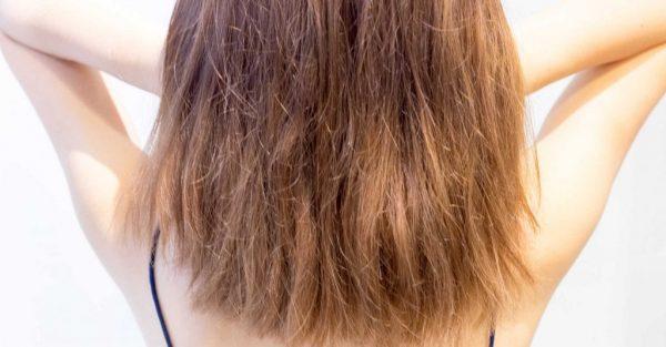 Тусклые повреждённые волосы