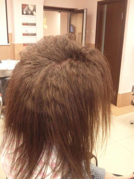 Волосы через полгода после буст-ап