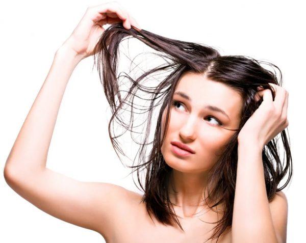 Недостаточно ухоженные волосы