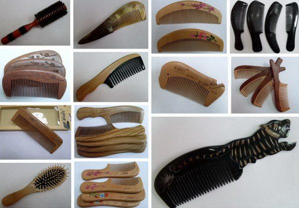 Расчёски и щётки из натуральных материалов