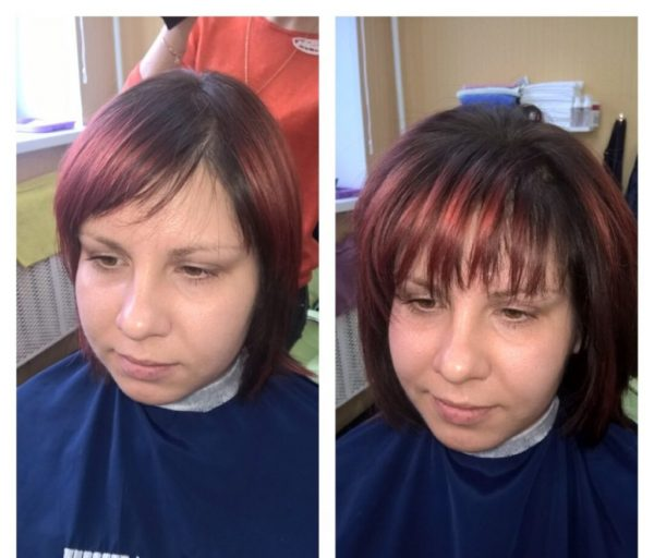 Флисинг на короткие волосы