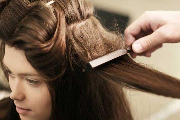 Начёсывание волос