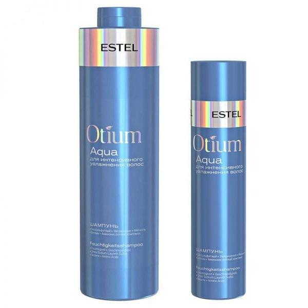 Шампунь Otium Aqua для интенсивного увлажнения волос от Estel