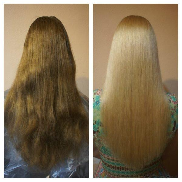 Декапирование — переход к блонду