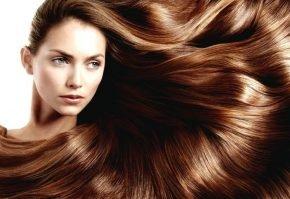 Блестящие гладкие волосы