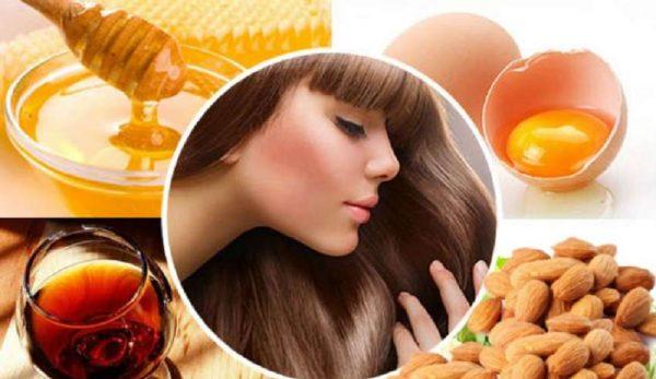 Натуральные продукты в уходе за волосами